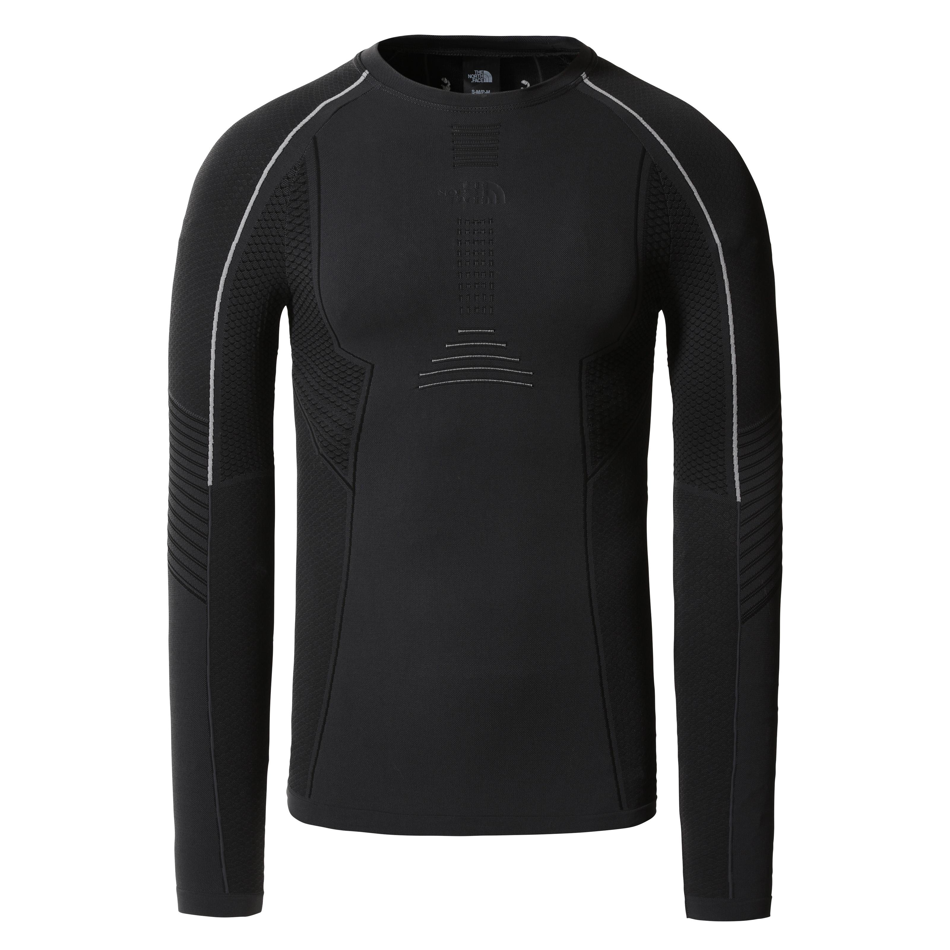 The North Face pánské funkční prádlo PÁNSKÉ FUNKČNÍ TRIČKO S DLOUHÝM RUKÁVEM PRO CREW NECK The North Face