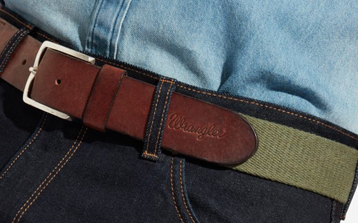 detail CANVAS BELT ARMY GREEN