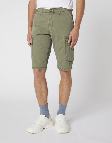 detail CARGO SHORT DUSTY OLIVE