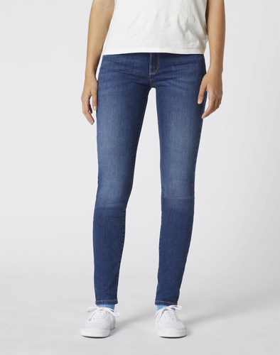 detail SKINNY AUTHENTIC BLUE