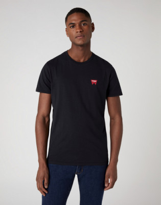 SS SIGN OFF TEE BLACK