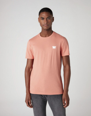 SS SIGN OFF TEE MELON ORANGE