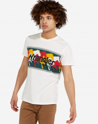 SS TRIBE TEE OFFWHITE